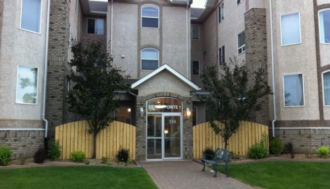 Building Front Entrance